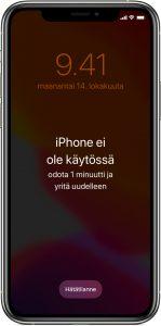 iphone-poista_pääsykoodi